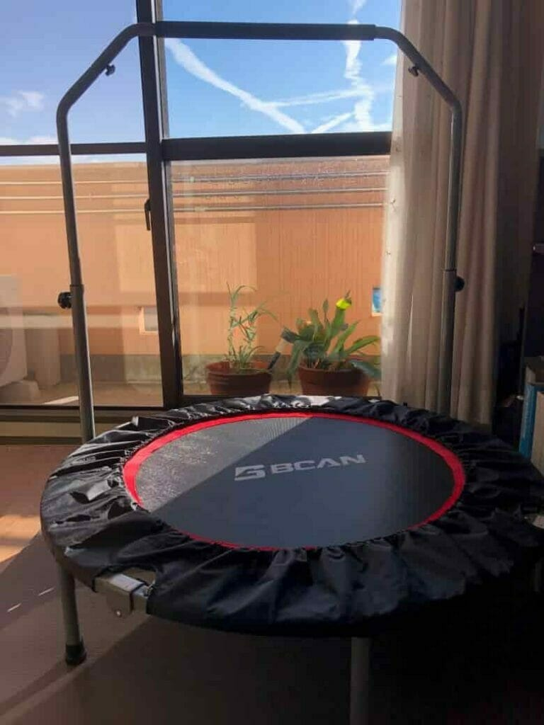 My BCAn Mini Trampoline With Handle