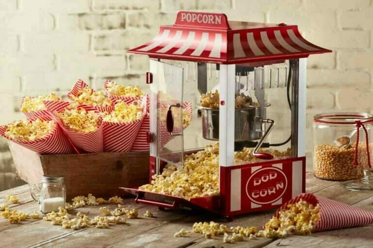 Old Fashioned Movie Time Popcorn Machines
